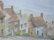 watercolour painting, Shaftesbury