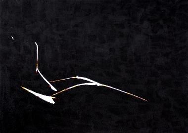 Silouhette Nude Painting